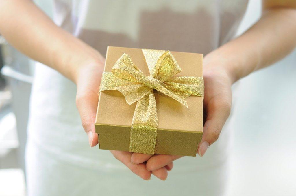 gave til svigersønn