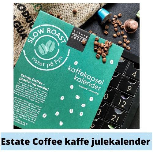 Estate Coffee kaffe julekalender